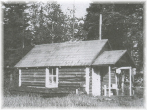 1929-West Canada Lakes Interior Ranger Station courtesy of Don Wharton