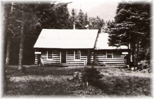 1930s- The Lake Colden Ranger Station.