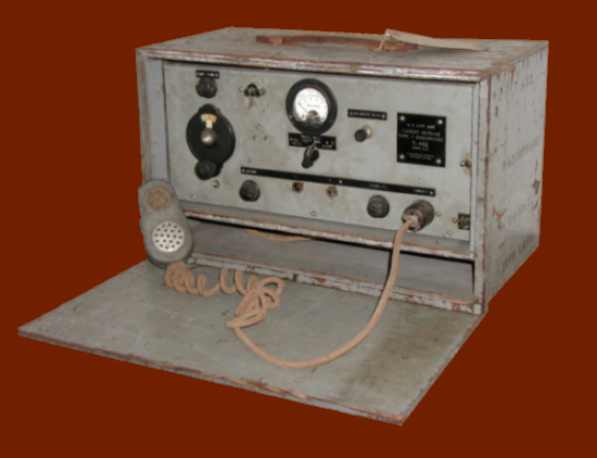 The 1940 radio from St. Regis Mt. Fire Tower.