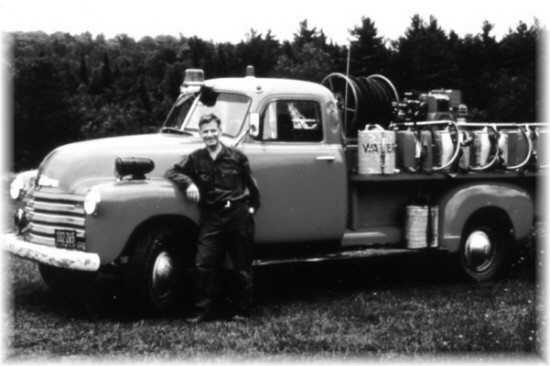 1952 Chevy Ranger Truck outfitted for fire fighting