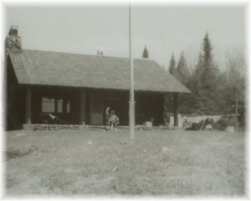 1965 Photo of West Canada Lakes Ranger Station courtesy of retired Forest Ranger Gary Lee