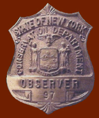 Forest Fire Observer Badge worn from 1926 to 1970 - A Paul Hartmann Photo